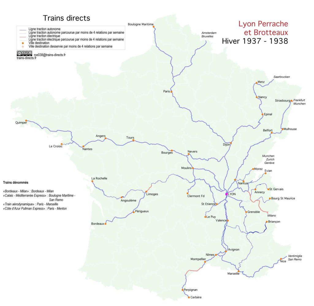 Lyon : 1938