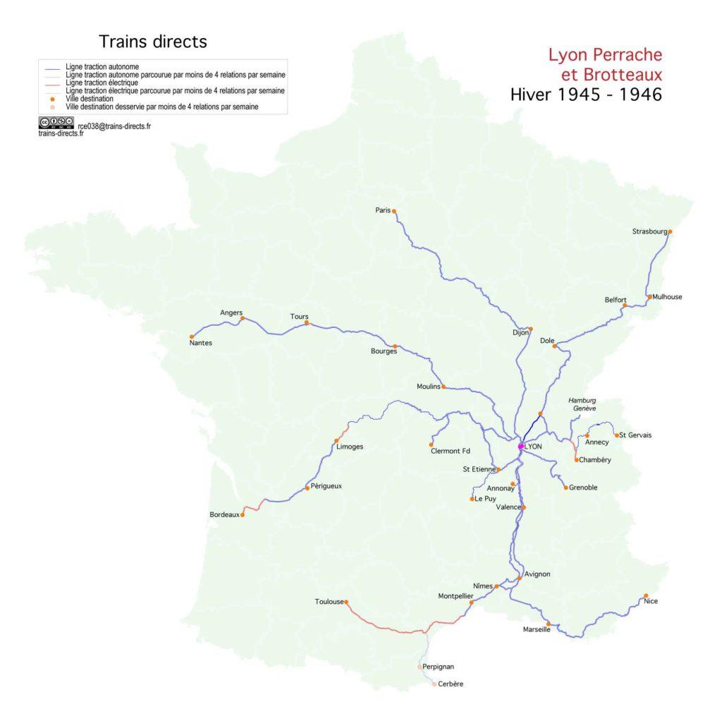 Lyon : 1945