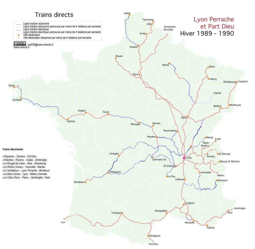 Lyon : 1990