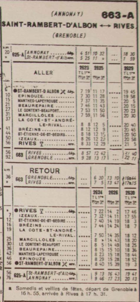 St Rambert-Rives (Chaix de janvier 1938)