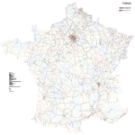 Cartes ferroviaires de France